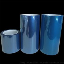 蓝色PET保护膜多种颜色 屏幕防刮膜 硅胶保护膜