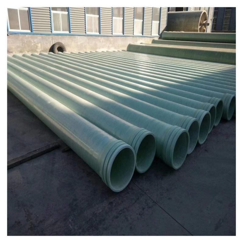 玻璃鋼纖維管道 宜興輕質夾砂管道