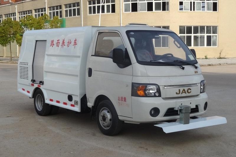 江淮康铃2方小型蓝牌路面清洗车
