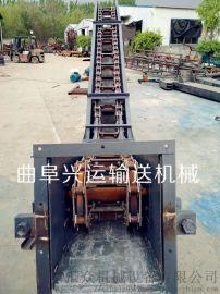 爬坡上料机 fu链式输送机 六九重工 铸石板耐磨刮