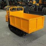 2吨座驾式履带运输车 山地沙地液压自卸装载车厂家