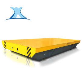 电池供电电机电动拖料轨道车 地轨电动移动平台