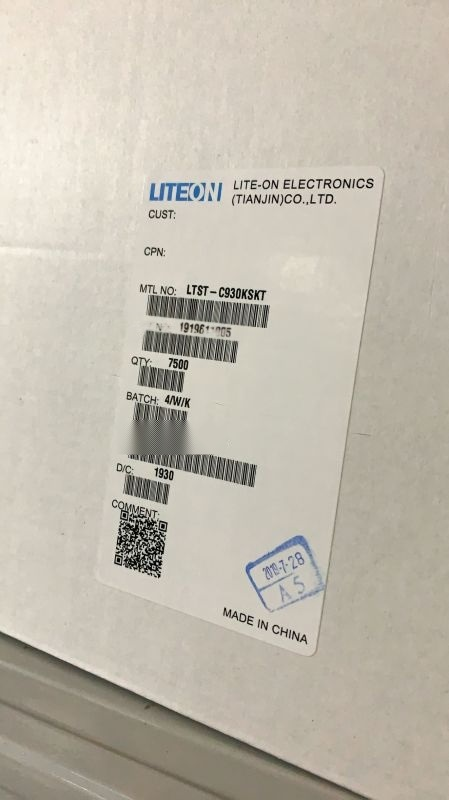 LTST-C930KSKT凸头1206黄色发光管