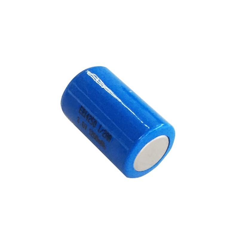 仪表仪器ER14250圆柱形3.6V锂亚硫酰氯电池