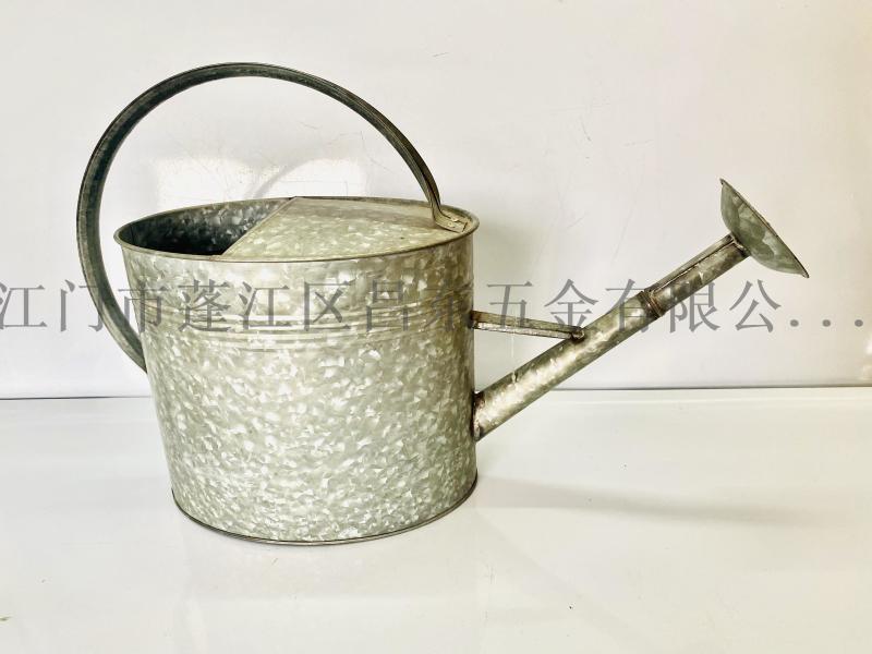 原色铁制花园大型洒壶,铁洒壶,铁皮壶,花园洒壶