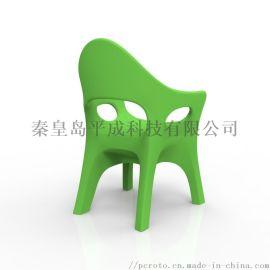 沙滩休闲滚塑椅子一体成型塑料椅子