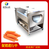 土豆去皮清洗机 不锈钢毛辊清洗去皮机 可加工定制