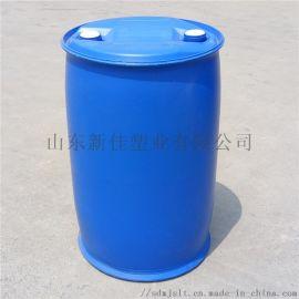 200公斤双环桶山东200l加厚塑料桶厂家