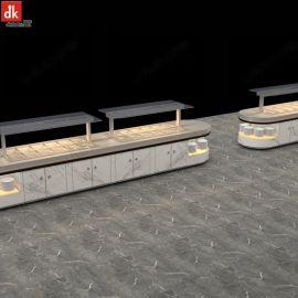 澳洲餐厅大理石集成热菜台设计定制 深圳厂家生产直销