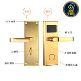 防盗门锁刷宾馆锁酒店锁公寓电子感应锁ic卡锁通用型磁卡锁酒店门锁