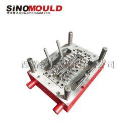西诺管件模具,塑料弯管注塑模,多腔管材模具定制