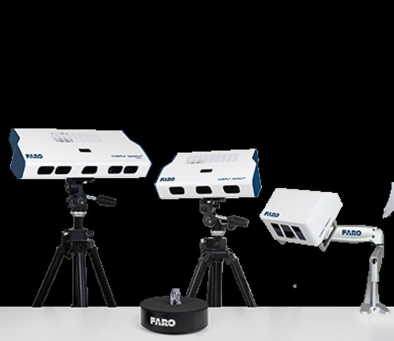 faro 蓝光三维扫描仪, FARO 结构光扫描仪