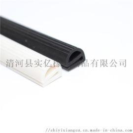 耐高温硅胶双e字硅胶密封条