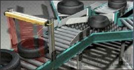 測量光幕應用 噴塗測量光幕 光柵感測器輸出信號