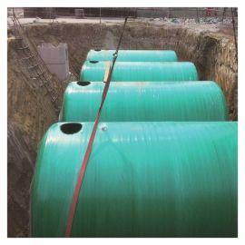 霈凯化粪池 一体化玻璃钢化粪池 污水处理化粪池