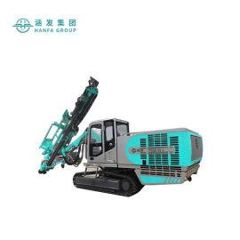 顶锤式潜孔钻机,履带式液压潜孔钻机