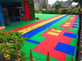 篮球场地板 改性聚丙烯材质悬浮地板