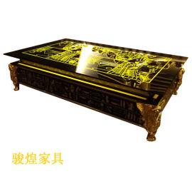 KTV茶钢化玻璃桌定制量贩简约夜场配套产品