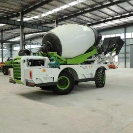 自上料混凝土攪拌車 全自动混泥土攪拌運輸車