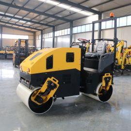 小型压路机找 座驾式双钢轮压路机 1吨双轮压路机