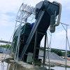 鐵路集裝箱幹灰中轉拆箱機 礦粉礦渣熟料卸集裝箱設備