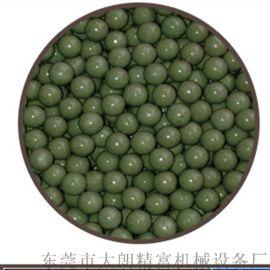供應不鏽鋼材料綠色高鋁瓷拋光石