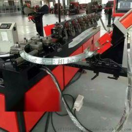 角钢法兰冲孔机带钢法兰成型机设备