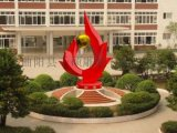 厂家定制大型不锈钢公园雕塑景点雕塑摆件
