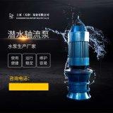 雨水泵站换新QZB潜水轴流泵厂家价格