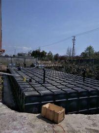 集成泵房地上式不锈钢装配消防水箱