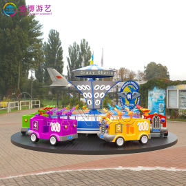 轨道滑行车类游艺机 儿童主题乐园疯狂射击游乐设施