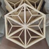型材厂家定制六边形铝格栅/型材拼接铝格栅天花