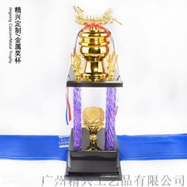 广州金属奖杯定制 合金奖杯龙舟大赛颁奖礼品奖杯定做