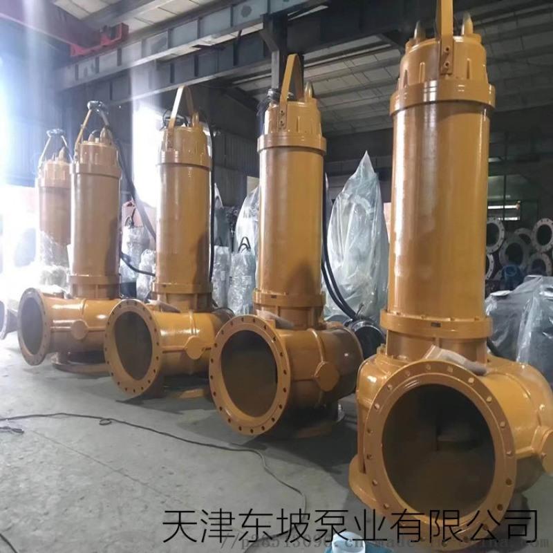 大型污水泵 雨季切割式污水泵 污水泵