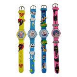 時霸手錶廠家供應新款促銷禮品卡通3D兒童手錶