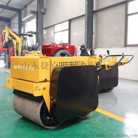 600小型压路机捷克 风冷手扶式压路机压土机压道机
