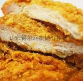 盐酥鸡上浆机 盐酥鸡块浸浆机 盐酥鸡裹糠机