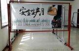天津健康證公示欄掛牆式宣傳欄設計找富國極速發貨 員工室內公告欄牆貼資訊欄製作