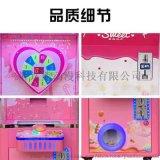 棒棒糖游戏机投币商用新款自动售卖玩具幸运转盘扭蛋机棒棒糖果机