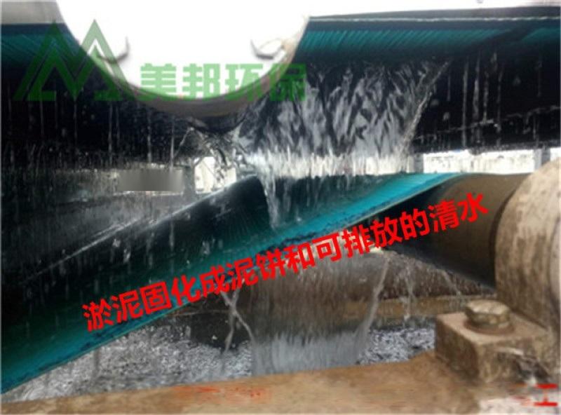 河川淤泥干排机 河道污泥榨干设备 河道淤泥处理设备