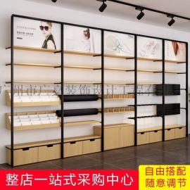 广嘉货架 名创优品超市饰品精品货架多功能单面立架