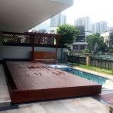 实木自动游泳池盖  平移智能电动盖板 别墅泳池盖