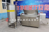 湖北電加熱豆皮油炸機, 自動攪拌的油炸機