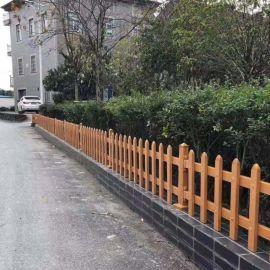 吉林白山塑钢草坪栅栏 pvc塑钢护栏介绍
