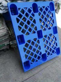 重庆食品包装专用栈板_九脚塑料托盘厂家