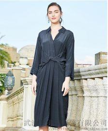 昆诗兰2020春夏新款套头中长款裙子怎么开个服装店