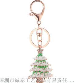 圣诞礼品钥匙扣,汽车节日礼品,圣诞老人钥匙扣