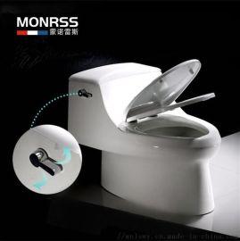 蒙诺雷斯6927虹吸式连体座便器