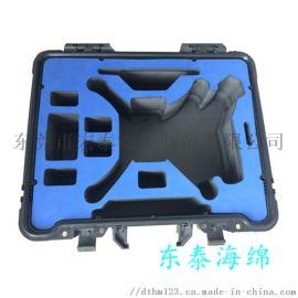 EVA防震定位植绒海绵盒海绵植绒加工