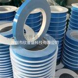 定製藍色導熱膠帶高溫絕緣導熱雙面膠帶